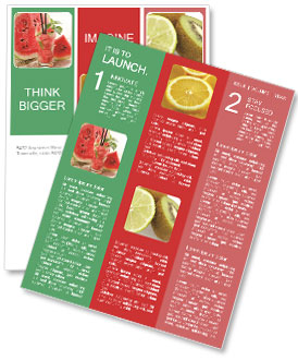 Fresh from watermelon. Newsletter Templates