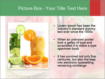 Fresh from watermelon. PowerPoint Templates - Slide 13