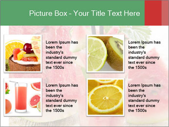 Fresh from watermelon. PowerPoint Templates - Slide 14