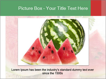 Fresh from watermelon. PowerPoint Templates - Slide 15