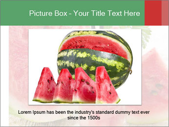 Fresh from watermelon. PowerPoint Templates - Slide 16