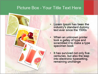 Fresh from watermelon. PowerPoint Templates - Slide 17