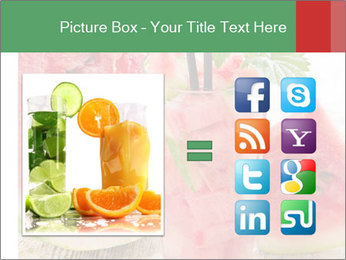 Fresh from watermelon. PowerPoint Templates - Slide 21