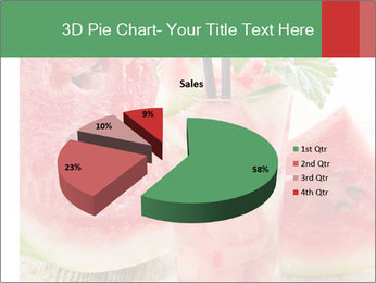 Fresh from watermelon. PowerPoint Templates - Slide 35