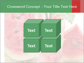 Fresh from watermelon. PowerPoint Templates - Slide 39