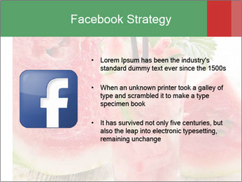 Fresh from watermelon. PowerPoint Templates - Slide 6