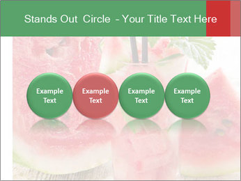Fresh from watermelon. PowerPoint Templates - Slide 76