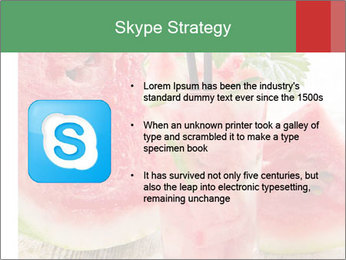 Fresh from watermelon. PowerPoint Templates - Slide 8