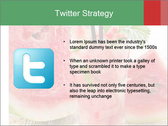 Fresh from watermelon. PowerPoint Templates - Slide 9