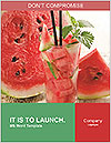 Fresh from watermelon. Word Templates - Page 1