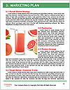 Fresh from watermelon. Word Templates - Page 8