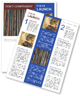 The magic of vinyl records. Newsletter Templates