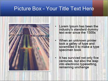 The magic of vinyl records. PowerPoint Template - Slide 13