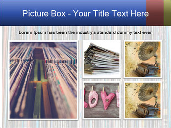 The magic of vinyl records. PowerPoint Template - Slide 19