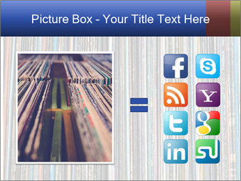 The magic of vinyl records. PowerPoint Template - Slide 21