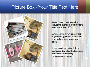 The magic of vinyl records. PowerPoint Template - Slide 23