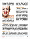 The snow-white smile healthy teeth. Word Template - Page 4