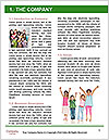 Three girls walk down the street on a sunny day. Word Template - Page 3