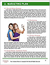 Three girls walk down the street on a sunny day. Word Templates - Page 8