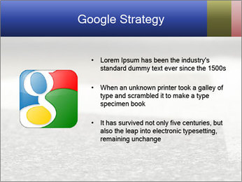 Road double arrow direction. PowerPoint Templates - Slide 10
