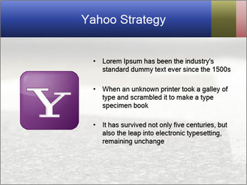 Road double arrow direction. PowerPoint Templates - Slide 11