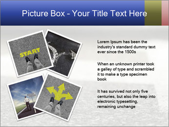 Road double arrow direction. PowerPoint Templates - Slide 23