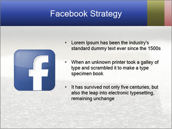 Road double arrow direction. PowerPoint Templates - Slide 6