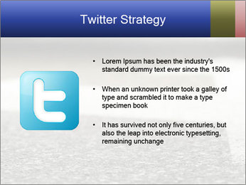 Road double arrow direction. PowerPoint Templates - Slide 9