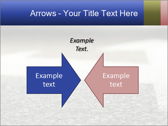 Road double arrow direction. PowerPoint Templates - Slide 90