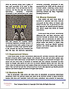 Road double arrow direction. Word Template - Page 4