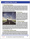 Road double arrow direction. Word Template - Page 8