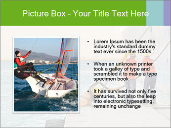 The sailors ship moored at the quay. PowerPoint Template - Slide 13