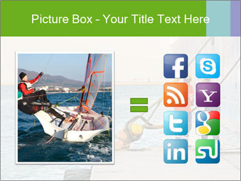 The sailors ship moored at the quay. PowerPoint Template - Slide 21