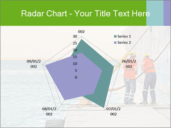 The sailors ship moored at the quay. PowerPoint Template - Slide 51