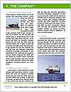 The sailors ship moored at the quay. Word Templates - Page 3
