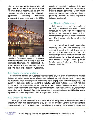 The sailors ship moored at the quay. Word Template - Page 4