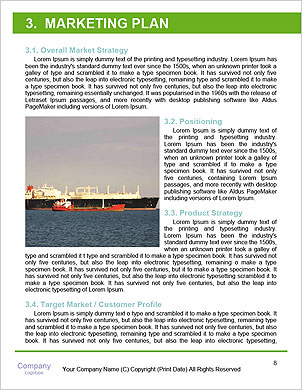 The sailors ship moored at the quay. Word Template - Page 8
