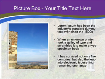 Large house on a background sky. PowerPoint Template - Slide 13