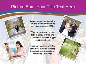 A bride catch the bridal bouquet PowerPoint Template - Slide 24