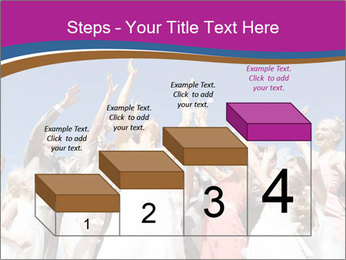 A bride catch the bridal bouquet PowerPoint Template - Slide 64
