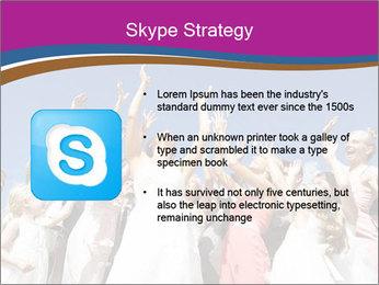 A bride catch the bridal bouquet PowerPoint Template - Slide 8