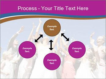 A bride catch the bridal bouquet PowerPoint Template - Slide 91