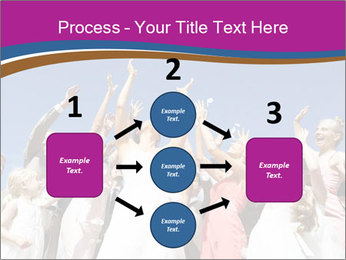 A bride catch the bridal bouquet PowerPoint Template - Slide 92
