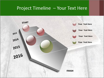 Old-Style Notebook PowerPoint Template - Slide 26