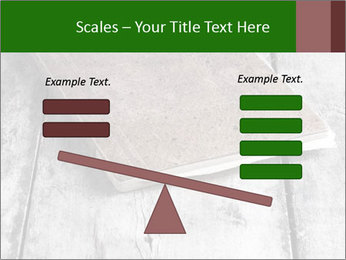 Old-Style Notebook PowerPoint Template - Slide 89