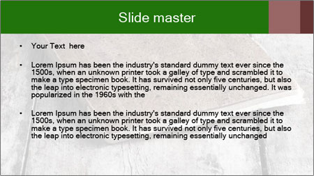 Old-Style Notebook PowerPoint Template - Slide 2