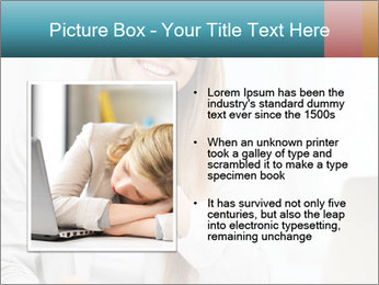 Businesswoman With Paperwork PowerPoint Template - Slide 13
