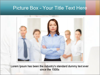 Businesswoman With Paperwork PowerPoint Template - Slide 16
