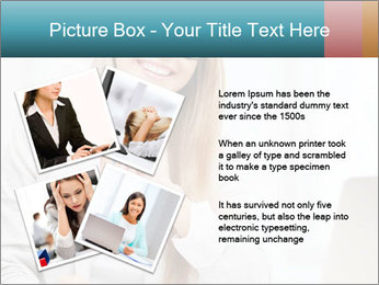 Businesswoman With Paperwork PowerPoint Template - Slide 23