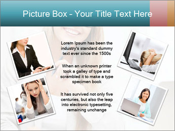 Businesswoman With Paperwork PowerPoint Template - Slide 24